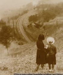 作品画像:遠い汽車