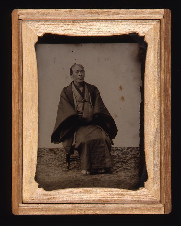 作品画像:鈴木時治肖像
