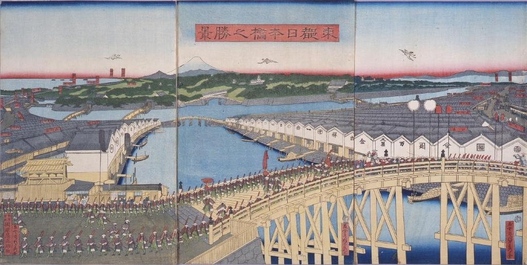 作品画像:東都日本橋之勝景