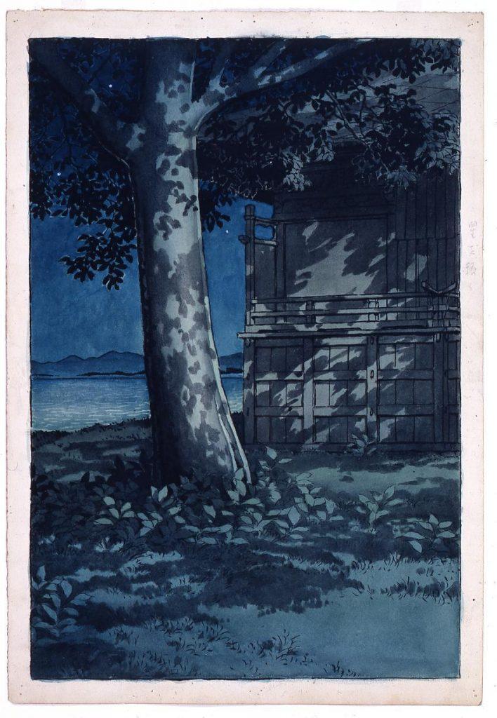 作品画像:旅みやげ第三集 秋田八郎潟 原画