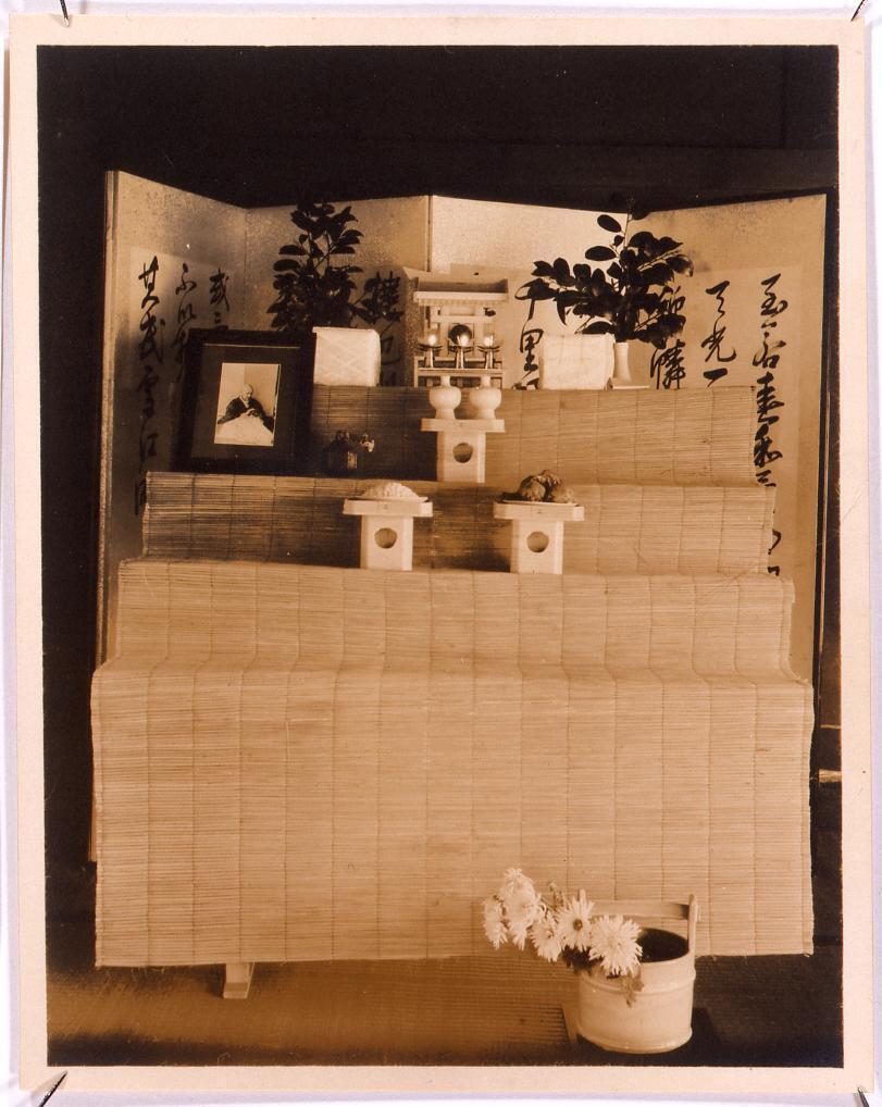 作品画像:川村清雄葬儀祭壇(天理)
