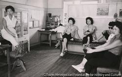 作品画像:真金町診療所の検診日