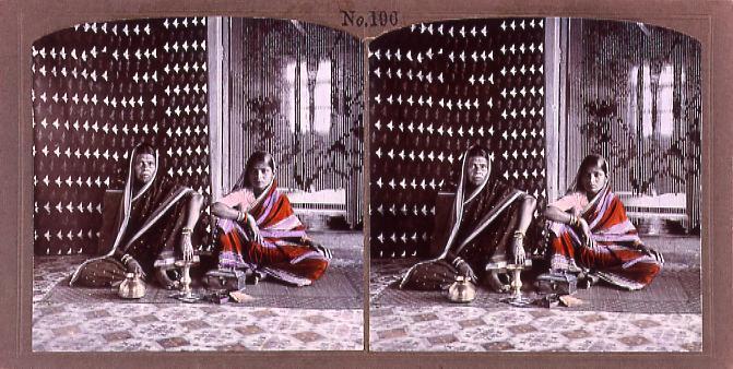 作品画像:インドの女性(No.196)