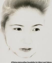 作品画像:(妻の肖像)