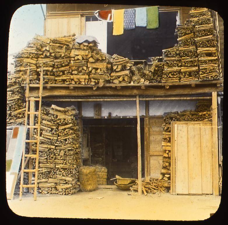 作品画像:薪倉庫
