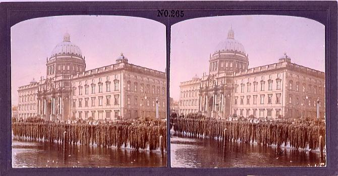 作品画像:河辺の建物(一)(西欧風景)(No.265)