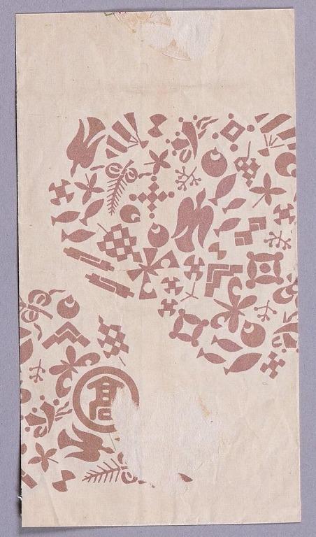 作品画像:高島屋封筒