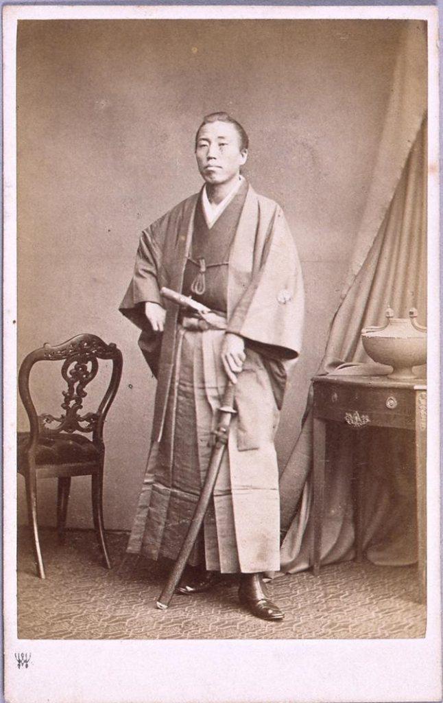 作品画像:慶応元年遣欧使節肖像写真 水品楽太郎