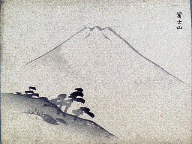 作品画像:富士山