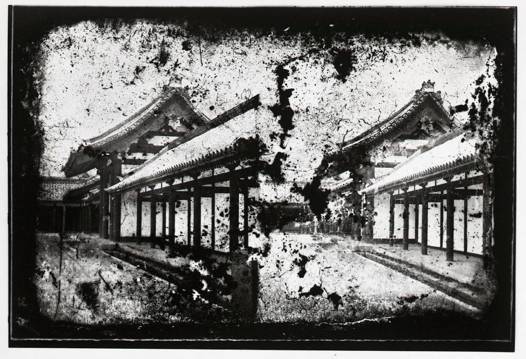 作品画像:京都御所 紫宸殿日花門
