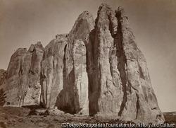 作品画像:インスクリプション・ロックの南側、ニューメキシコ州