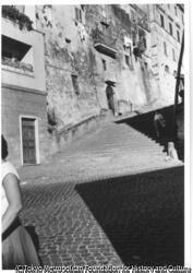 ローマ・爆撃された跡