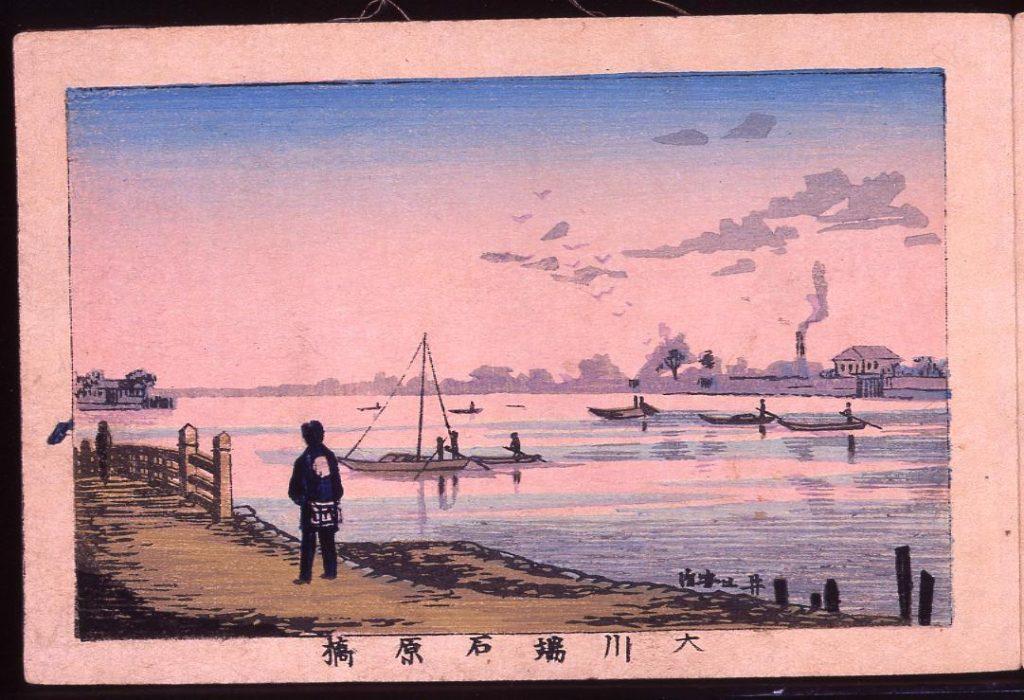 作品画像:大川端石原橋