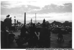 作品画像:パリ・夕暮のコンコルド広場