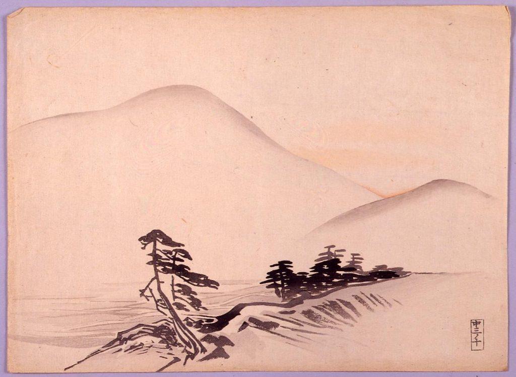 作品画像:山水図