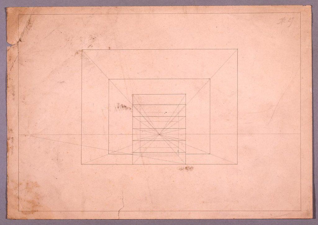 作品画像:図面習作 透視図
