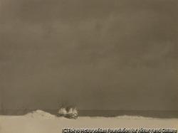 作品画像:湖畔の雪