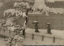 作品画像:雪景色