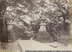 作品画像:亀山八幡宮から下関を望む