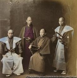 作品画像:薩摩藩の使節