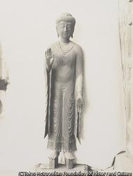 作品画像:西大寺 釈迦如来像