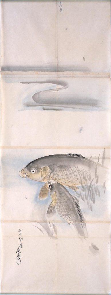 作品画像:粉本 双鯉
