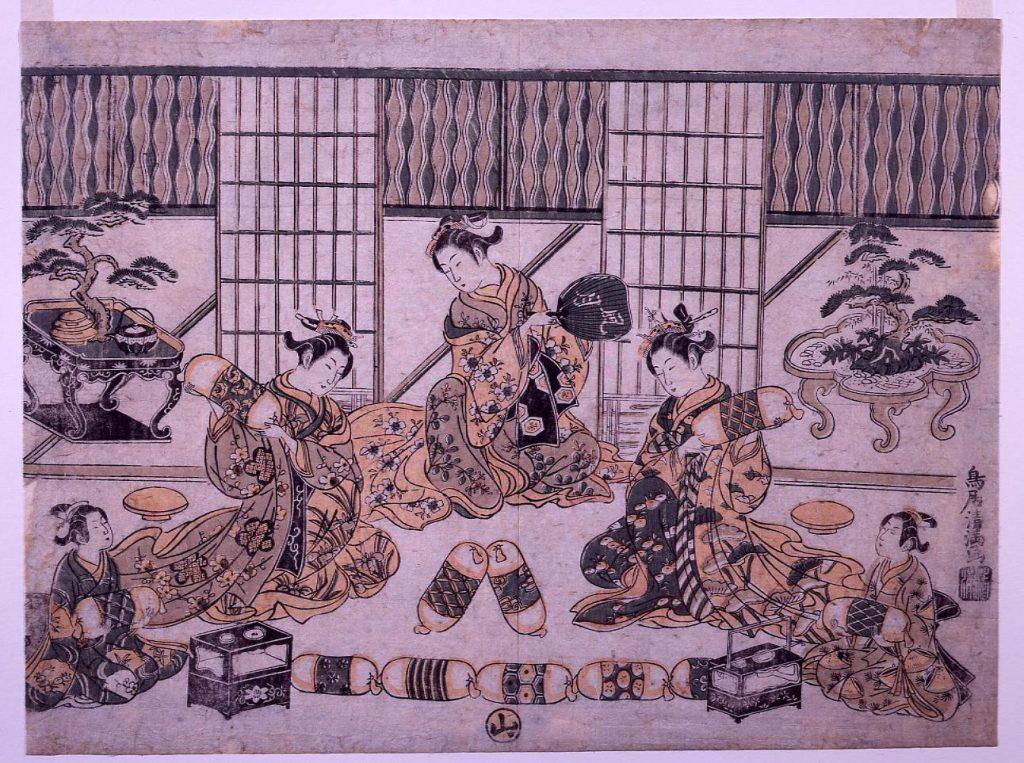 作品画像:枕相撲
