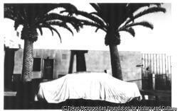 覆われた車、ロングビーチ、カリフォルニア