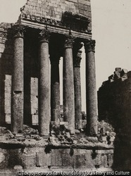 作品画像:シリア - ジュピター神殿、バールベク