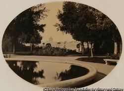 作品画像:ピチカンからのサン・ピエトロ寺院の眺め
