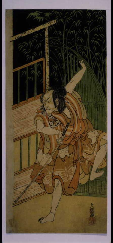 作品画像:三世松本幸四郎の曽我五郎