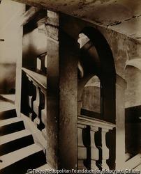 作品画像:階段、ブラン・モントー通り25番地