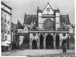 作品画像:パリのサン=ジェルマン・ローセロワ教会、フランス
