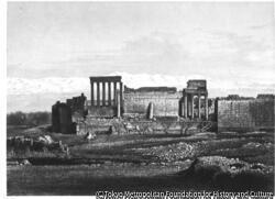 作品画像:バールベクの太陽神殿、シリア