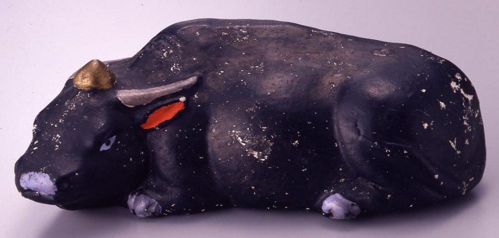 作品画像:今戸人形 牛