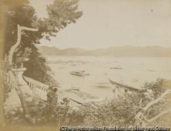 作品画像:赤間関 亀山八幡宮前面