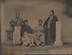 作品画像:松平忠厚と三人の男