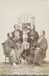 作品画像:4人の武士
