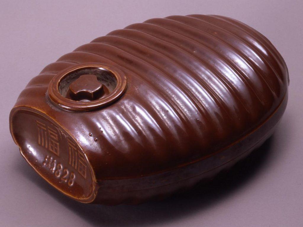 作品画像:陶製湯タンポ