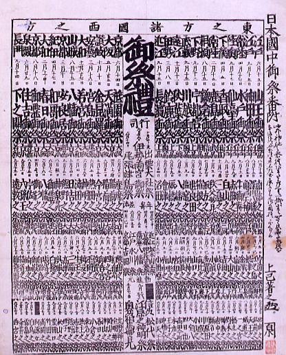 作品画像:日本国中御祭番付