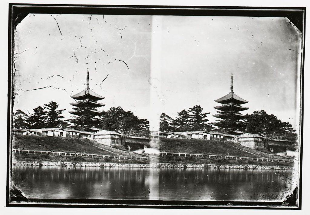 興福寺 塔・猿沢池