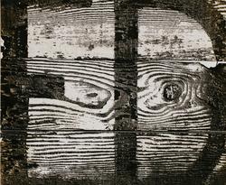 作品画像:文字と板A 1954.11