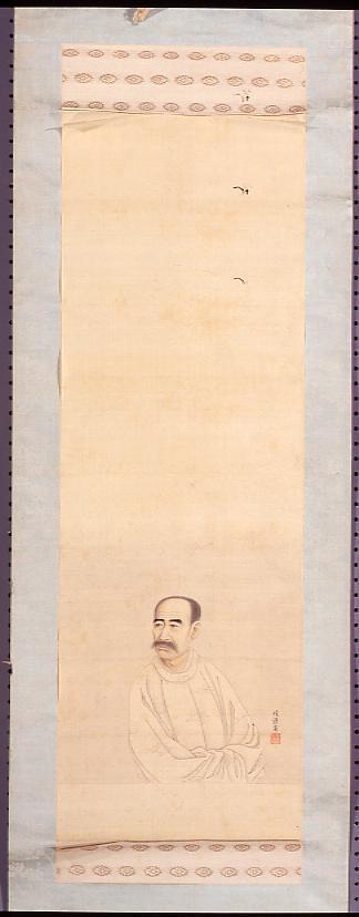 作品画像:鷲津毅堂肖像