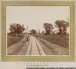 作品画像:江別橋とその東側の原野を望む