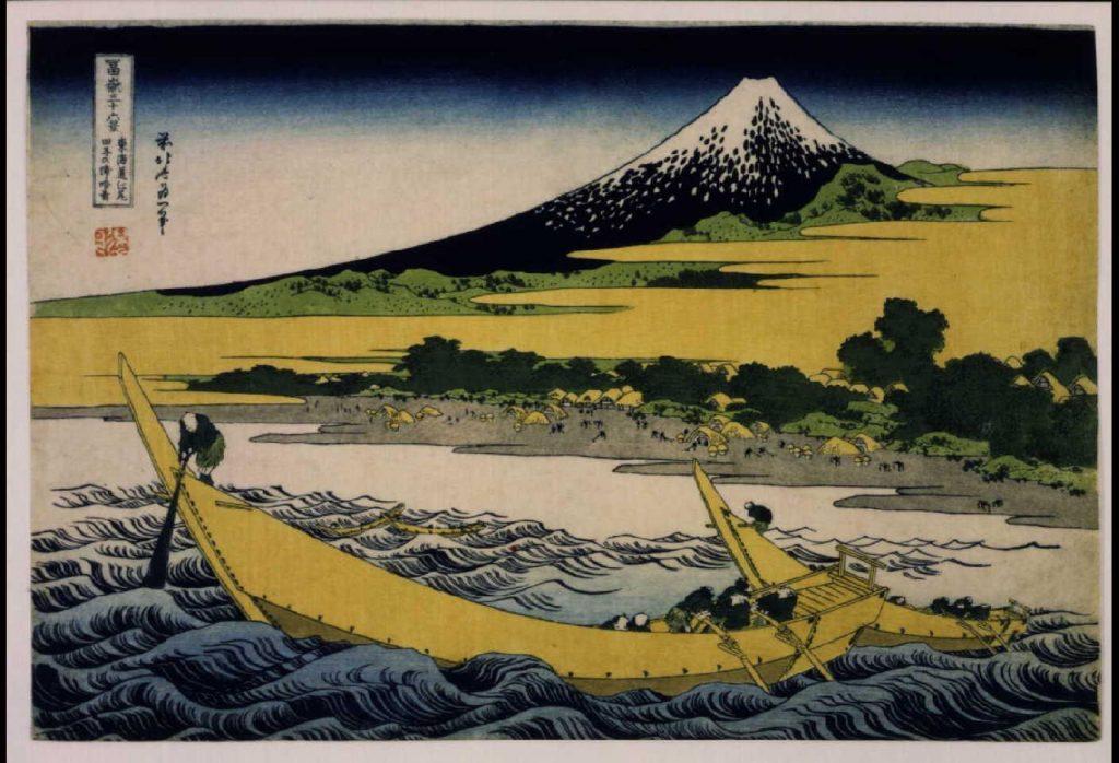 作品画像:冨嶽三十六景 東海道江尻田子の浦略図