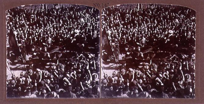 作品画像:米国提督入京歓迎(No.147)