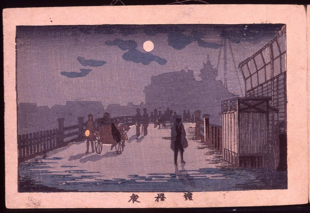 作品画像:鎧橋夜