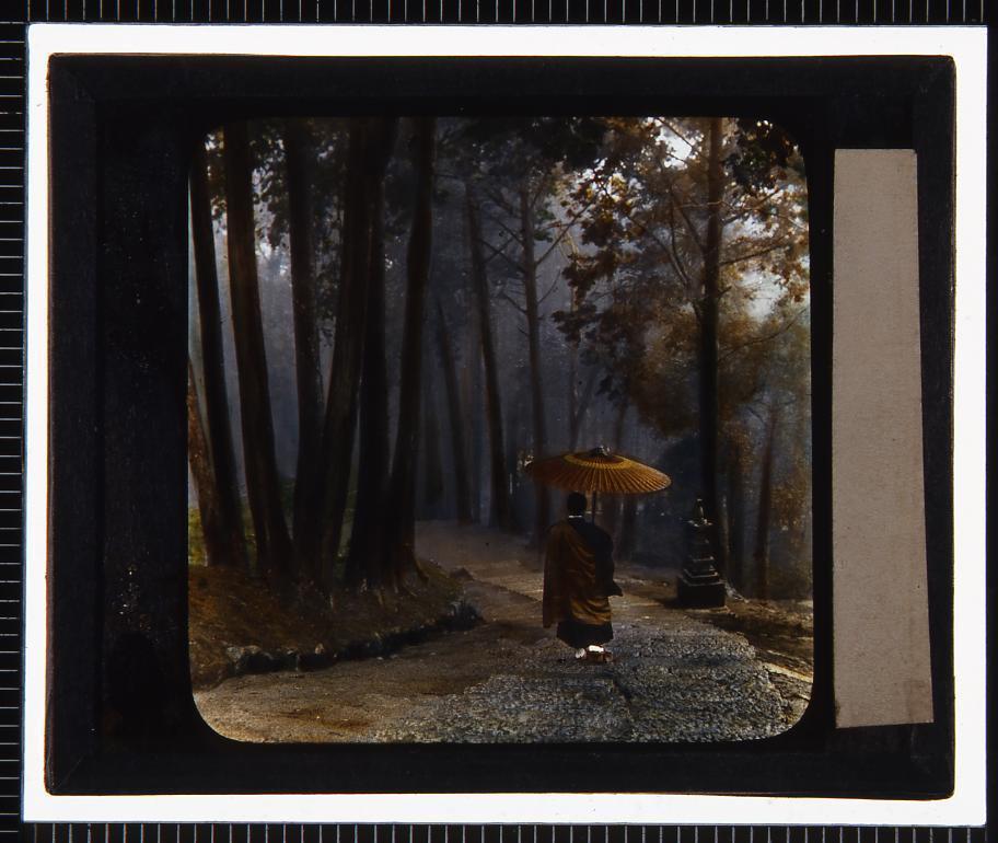 作品画像:比叡山(幻燈原板)
