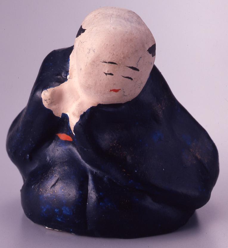 作品画像:今戸人形 五人ばやし(ふえ)