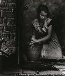 作品画像:若い主婦、ベスナル・グリーン